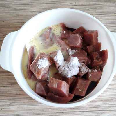 Фото рецепта - Жареный лагман с свининой - шаг 3