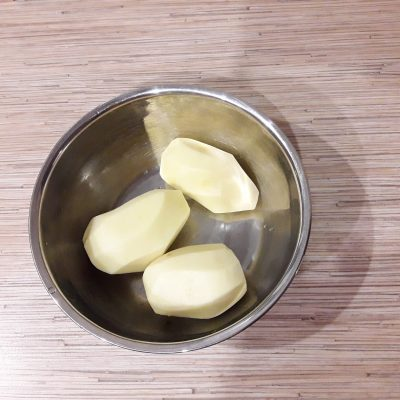 Фото рецепта - Стожки из картошки с фаршем и сыром - шаг 1