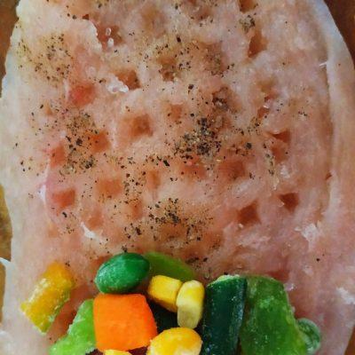 Фото рецепта - Куриное филе, фаршированное овощами (рулетики) - шаг 4
