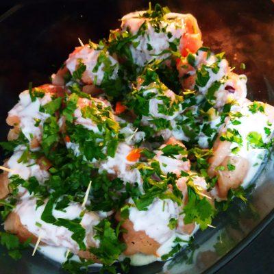 Фото рецепта - Куриное филе, фаршированное овощами (рулетики) - шаг 6