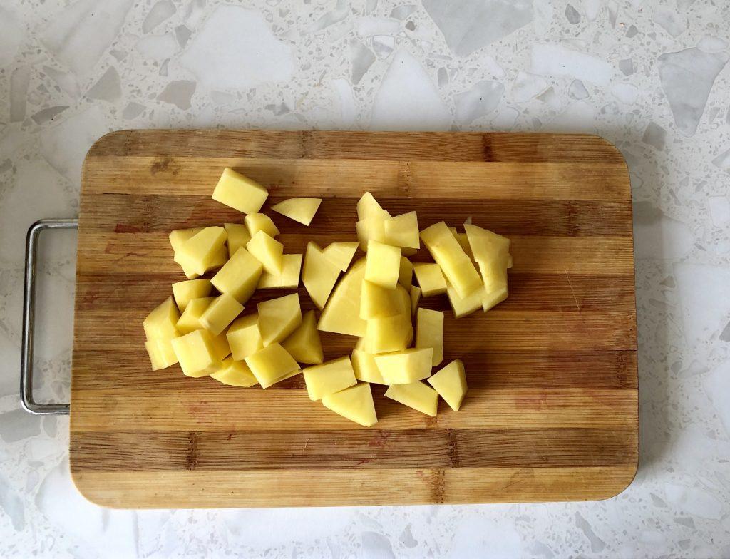 Фото рецепта - Вегетарианский борщ на овощах с сельдереем - шаг 5