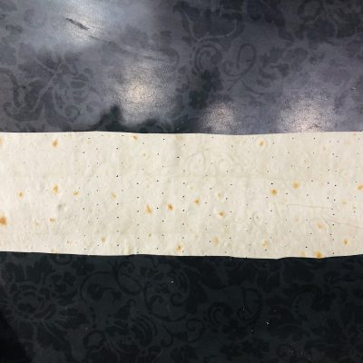 Фото рецепта - Сырные конвертики из лаваша - шаг 4