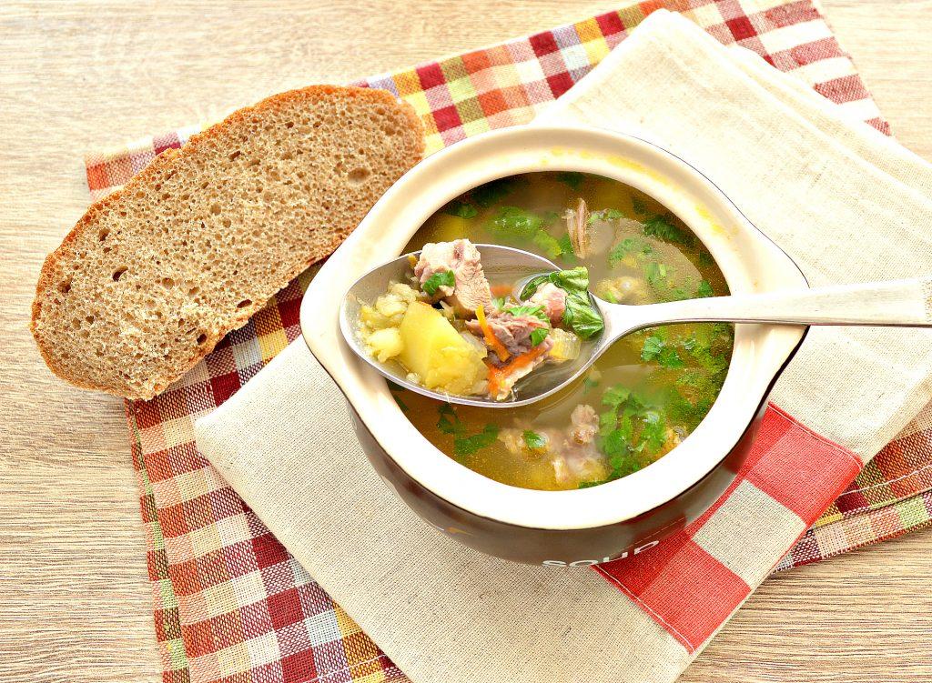 Фото рецепта - Гороховый суп со свининой - шаг 6