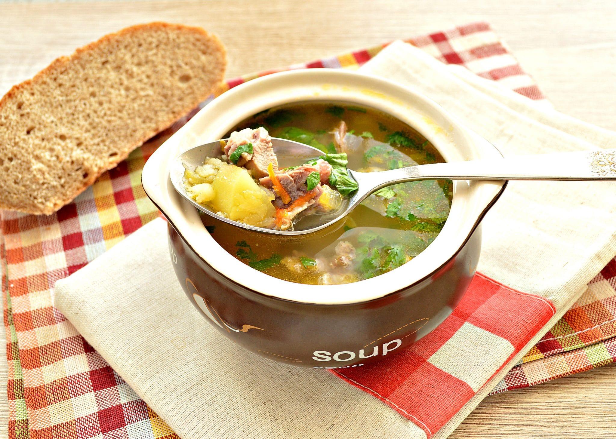 имея гороховый суп рецепт со свининой с фото моём случае была