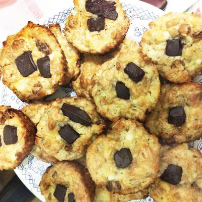 Творожно-овсяное печенье - рецепт с фото