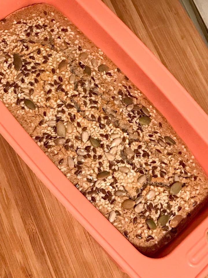 Фото рецепта - Хлеб из зеленой гречки - шаг 5