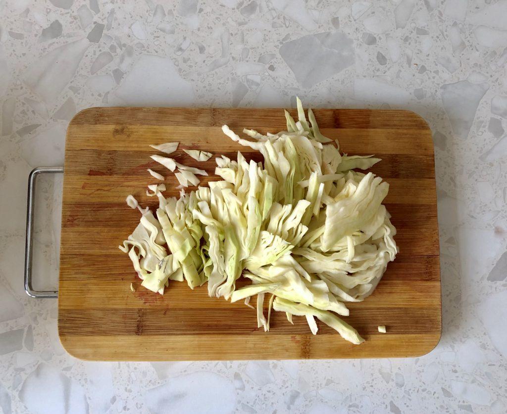 Фото рецепта - Вегетарианский борщ на овощах с сельдереем - шаг 4