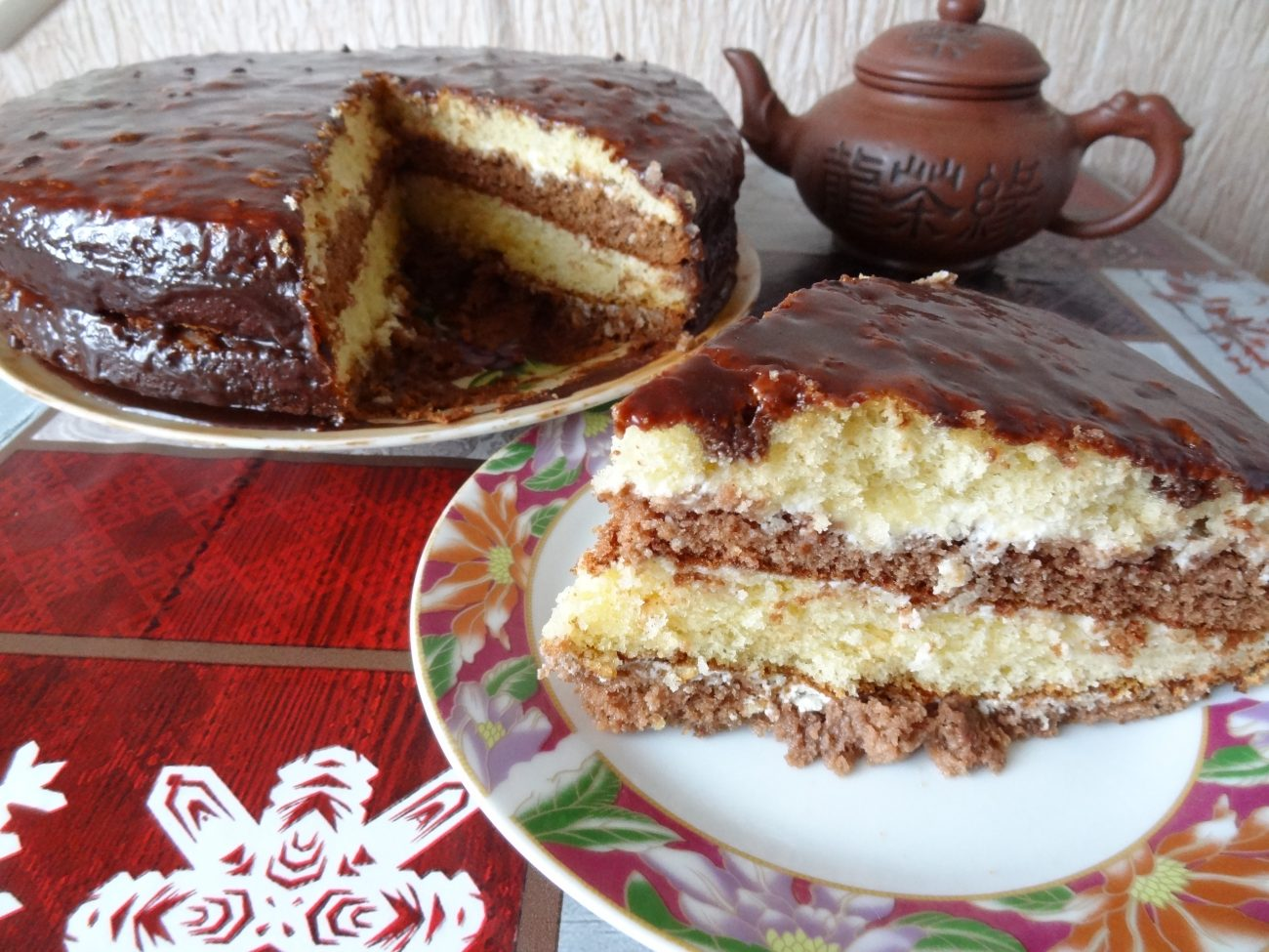 """Торт шоколадный """"Бархатный"""""""