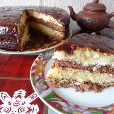 """Торт шоколадный """"Бархатный"""" - рецепт с фото"""