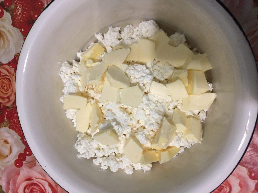 Фото рецепта - Творожно-овсяное печенье - шаг 1