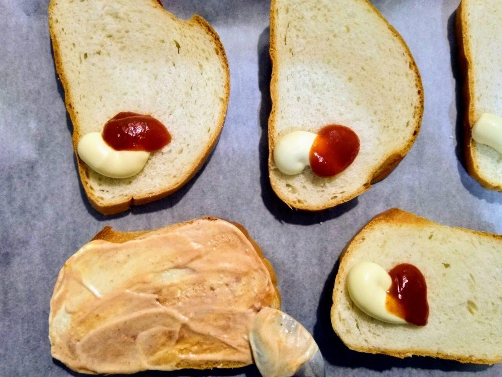 Фото рецепта - Горячие бутерброды «Минутка» - шаг 3