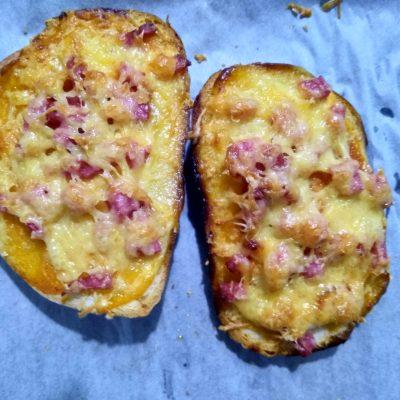 Фото рецепта - Горячие бутерброды «Минутка» - шаг 5