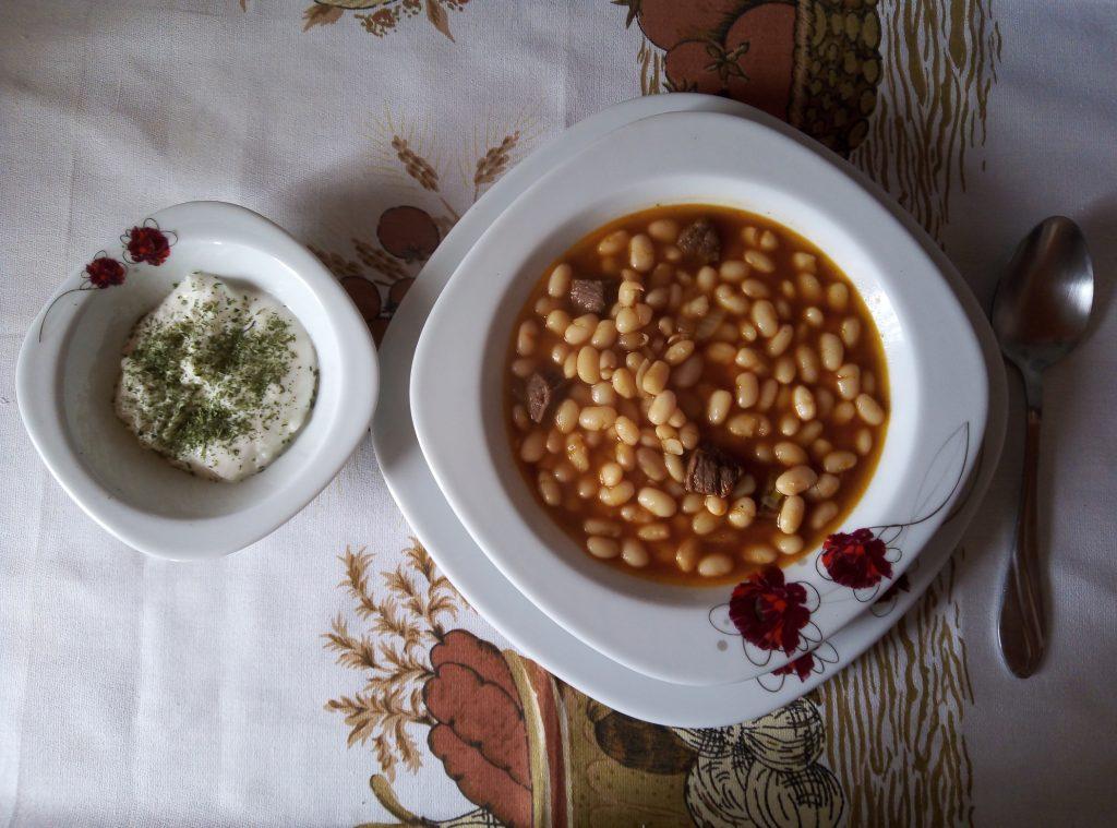 Фото рецепта - Белая фасоль с говядиной по-турецки - шаг 6