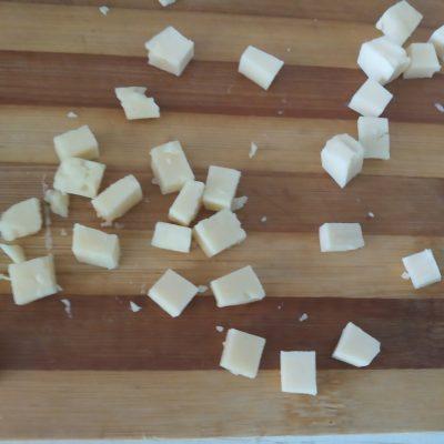 Фото рецепта - Омлет с картошкой и грудинкой на сковороде - шаг 4