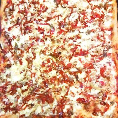 Очень тонкая и вкусная пицца - рецепт с фото