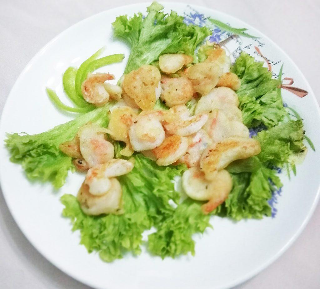 Фото рецепта - Креветки в кляре из рисовой муки - шаг 5