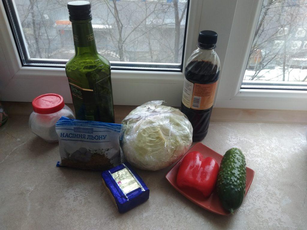 Фото рецепта - Витаминный капустный салат без соли - шаг 1