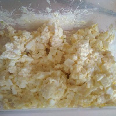 Фото рецепта - Сырно-яичные шарики с чесноком - шаг 7