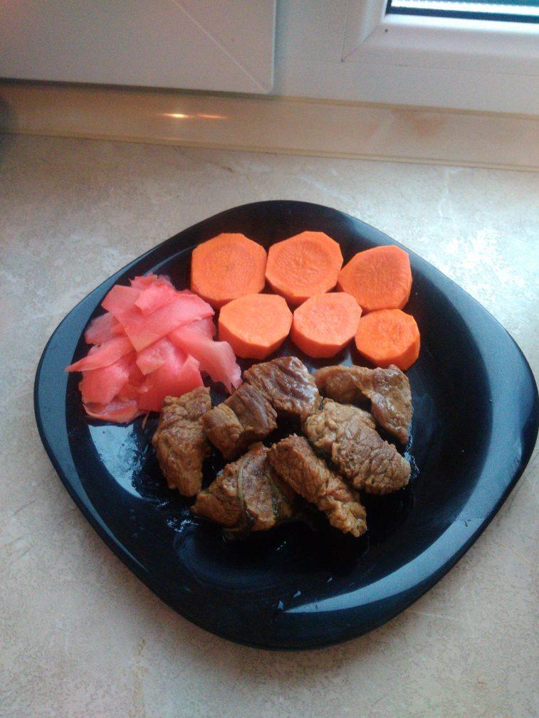 Фото рецепта - Нежная тушеная говяжья вырезка - шаг 7