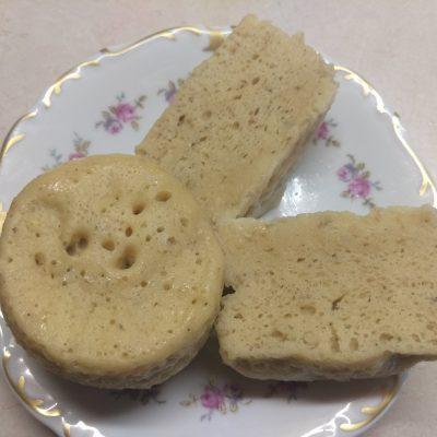 Фото рецепта - Яблочно-мятный кекс в микроволновке - шаг 5