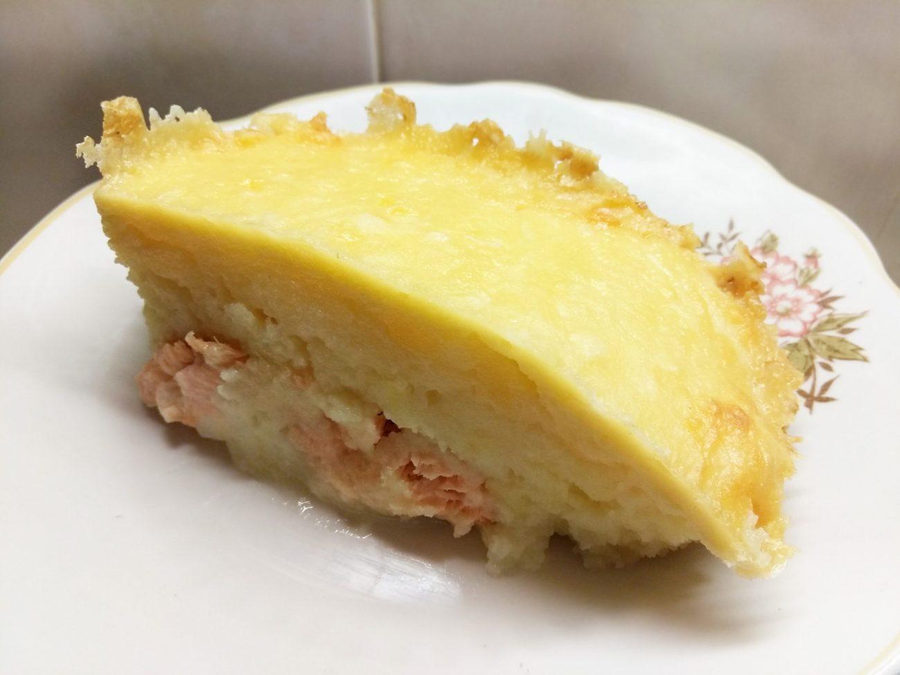 Запеканка картофельно-рыбная под сыром