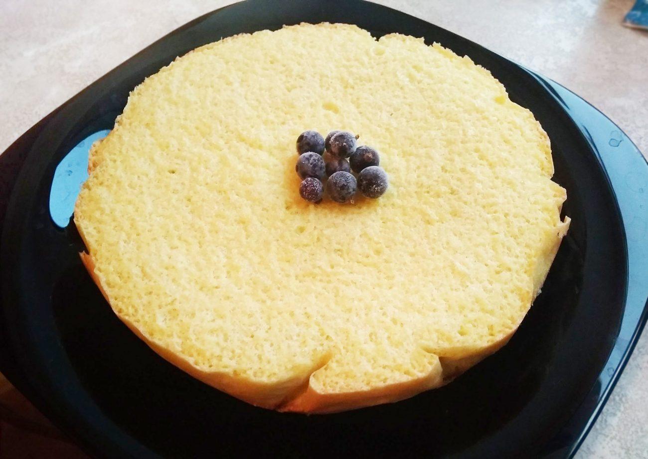 Пышный бисквит в мультиварке