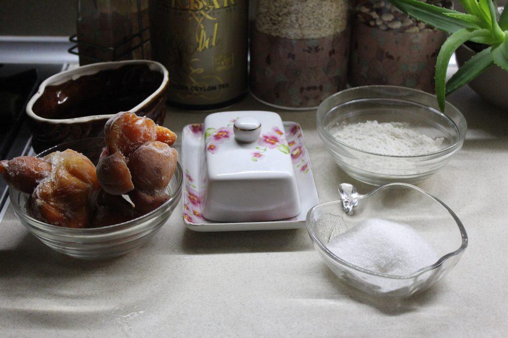 Фото рецепта - Простой абрикосовый крамбл - шаг 1