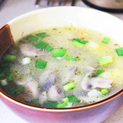 Нежный весенний суп с вешенками и овощами - рецепт с фото