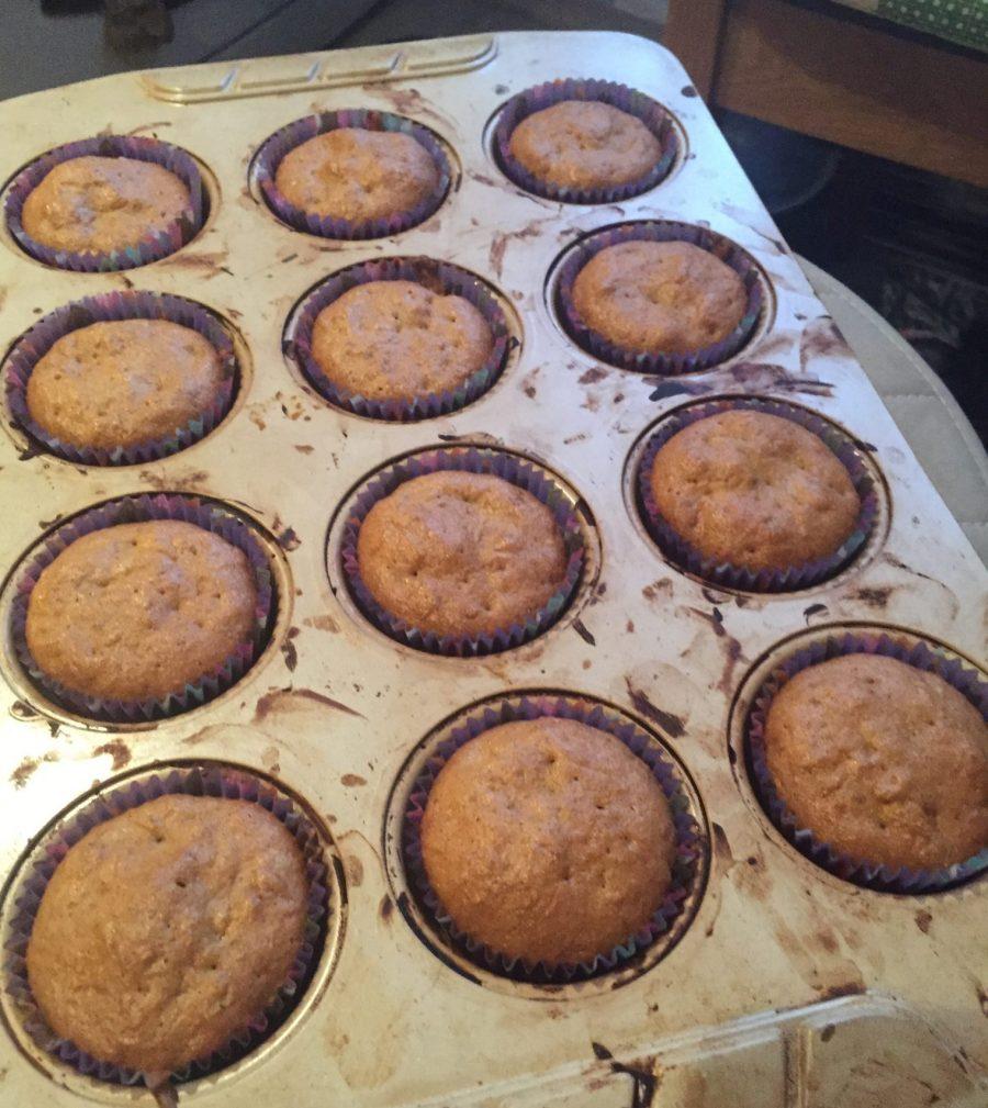 Фото рецепта - Морковно-тыквенные кексы - шаг 8