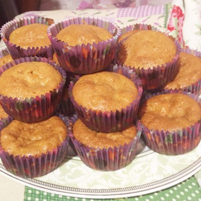 Морковно-тыквенные кексы - рецепт с фото