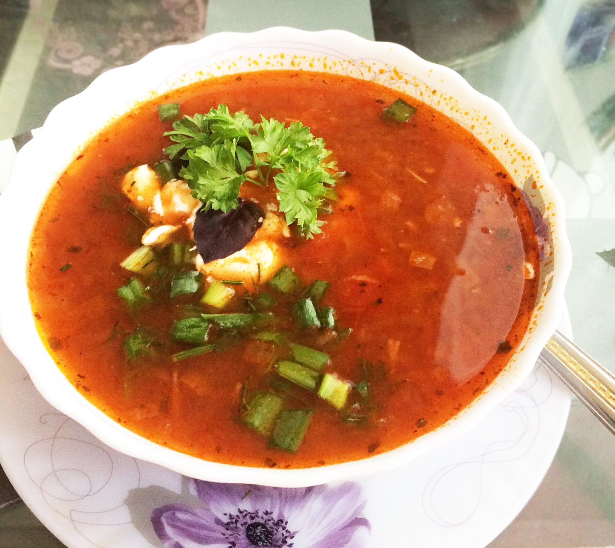 Супы на зиму