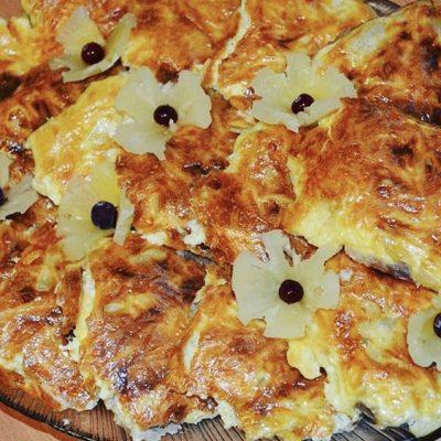 Сочные свиные отбивные с ананасами по-гавайски - рецепт с фото