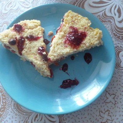 Фото рецепта - Королевская ватрушка с вишневой начинкой - шаг 7