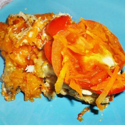 Минтай под овощной шубой, в фольге - рецепт с фото