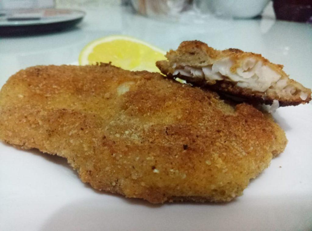 Фото рецепта - Нежнейшее диетическое блюдо из филе морского языка в панировке - шаг 5