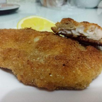 Нежнейшее диетическое блюдо из филе морского языка в панировке - рецепт с фото