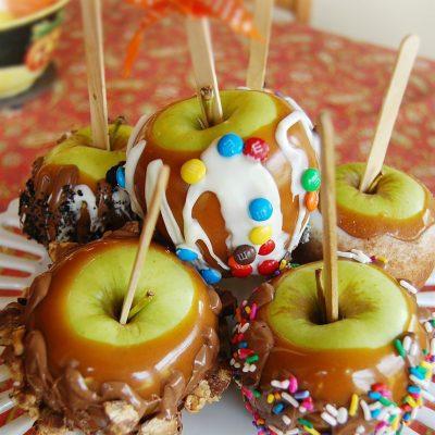 Яблоки в карамели в домашних условиях - рецепт с фото