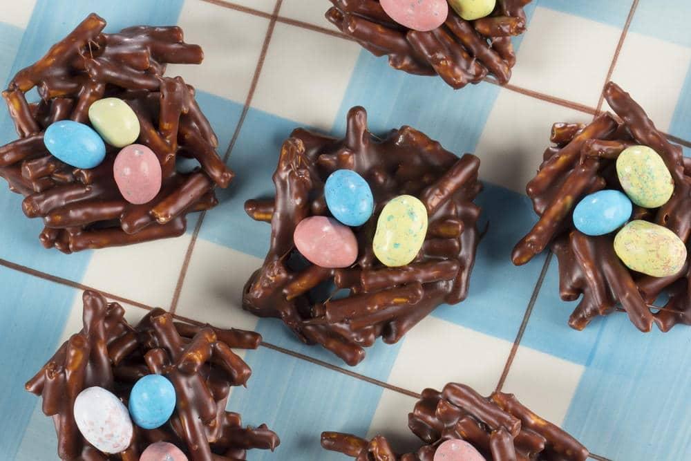 """Печенье """"шоколадные гнезда"""""""