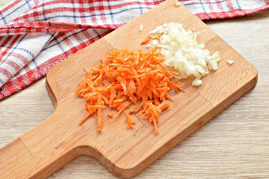 Фото рецепта - Рисовый суп с ветчиной - шаг 2