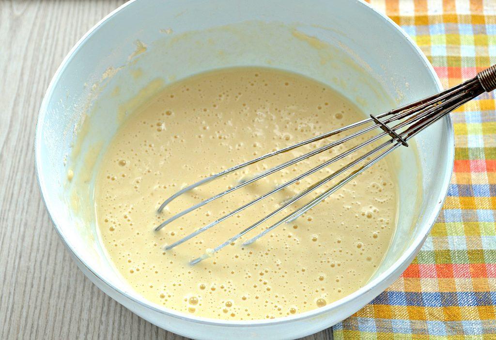 Фото рецепта - Идеальные блины на молоке и сливочном масле - шаг 4