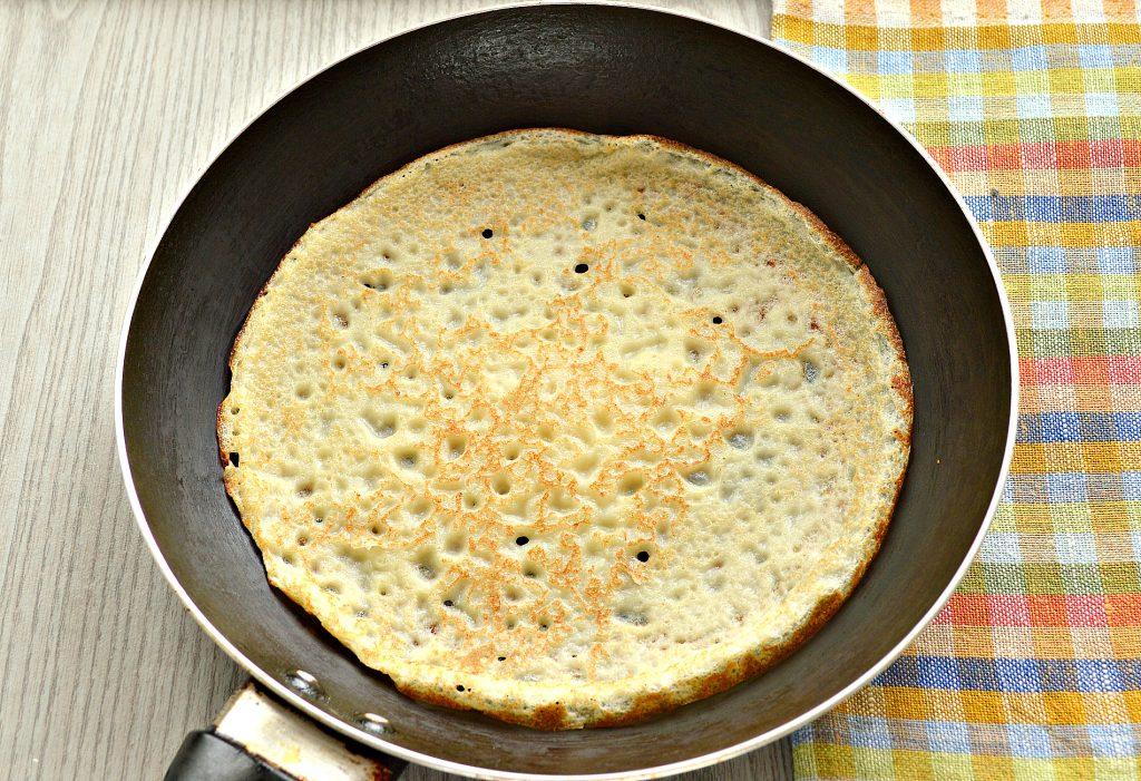 Фото рецепта - Идеальные блины на молоке и сливочном масле - шаг 6