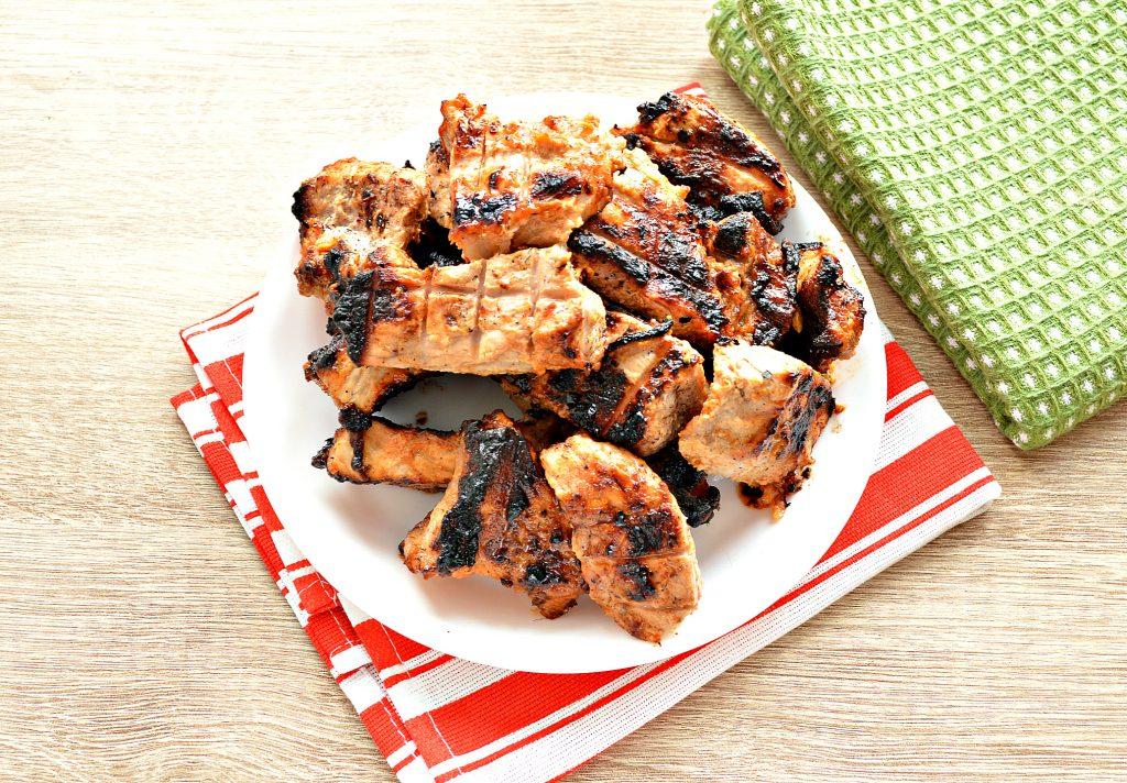 Фото рецепта - Шашлык из свинины на решетке - шаг 8