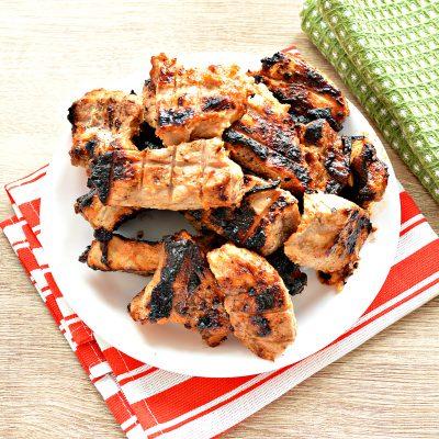 Шашлык из свинины на решетке - рецепт с фото