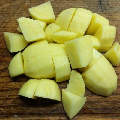Фото рецепта - Суп-пюре из сельдерея, кабачков и картофеля - шаг 1