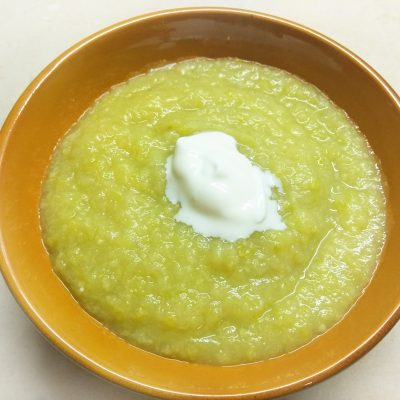 Суп-пюре из сельдерея, кабачков и картофеля - рецепт с фото