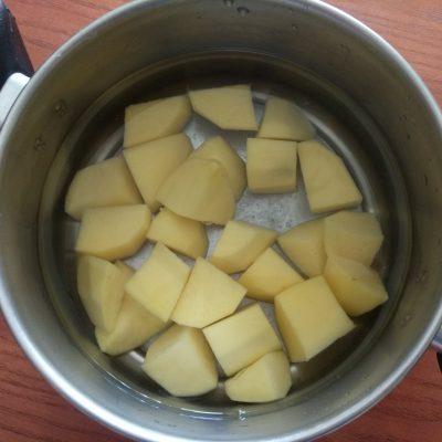 Фото рецепта - Картофельный киш с творогом и щавелем - шаг 1