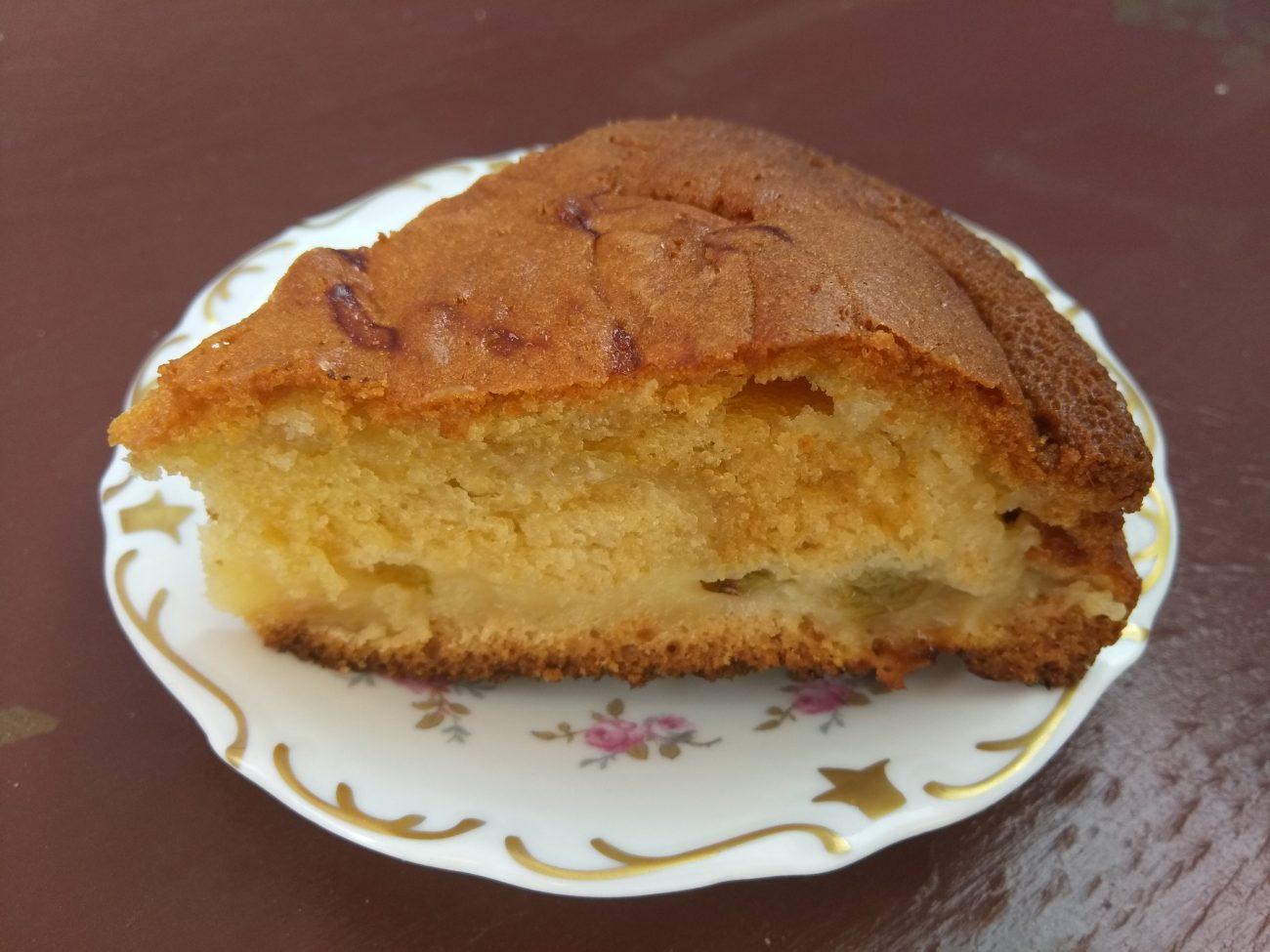 Пирог с крыжовником на йогурте