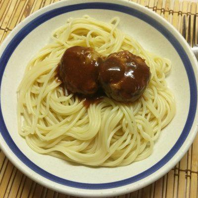 Фото рецепта - Митболы (тефтели) из свинины в кисло-сладком соусе - шаг 9