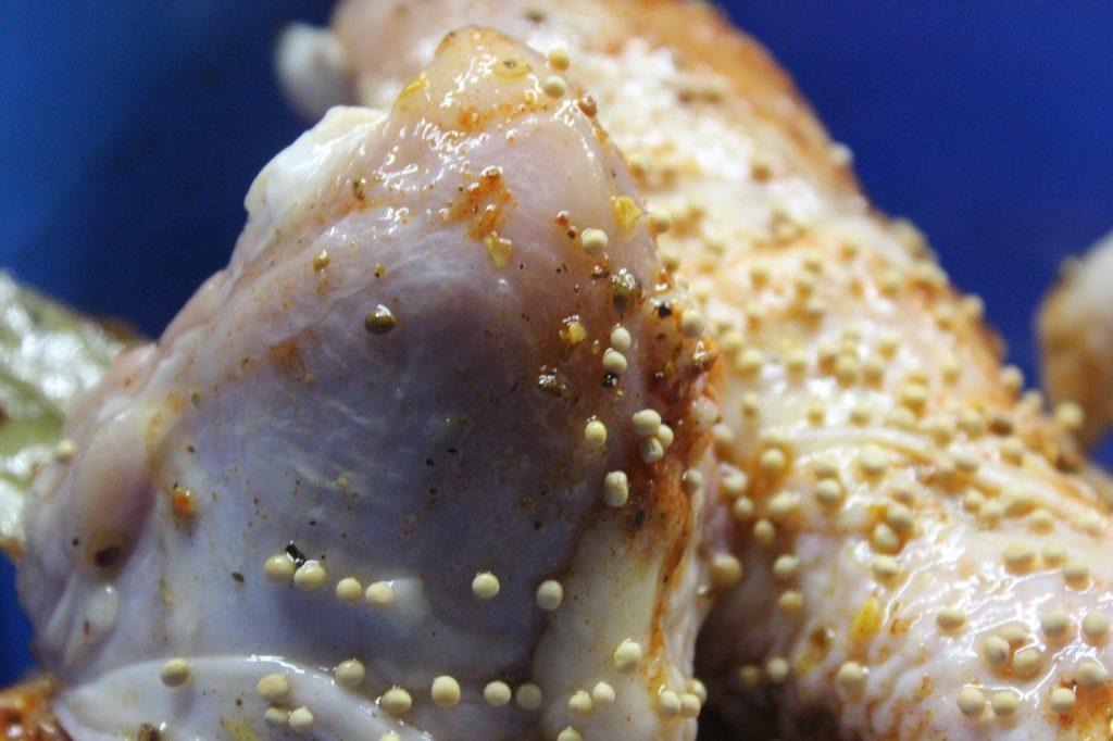 Фото рецепта - Куриные голени в горчичном маринаде с паприкой, в рукаве - шаг 3