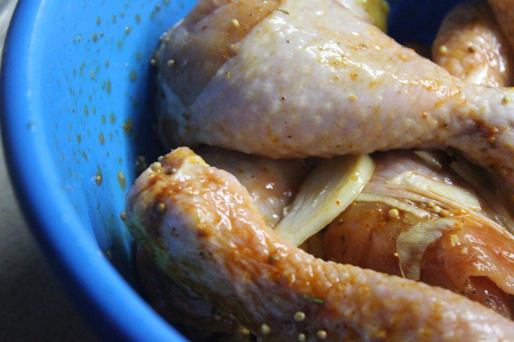 Фото рецепта - Куриные голени в горчичном маринаде с паприкой, в рукаве - шаг 4